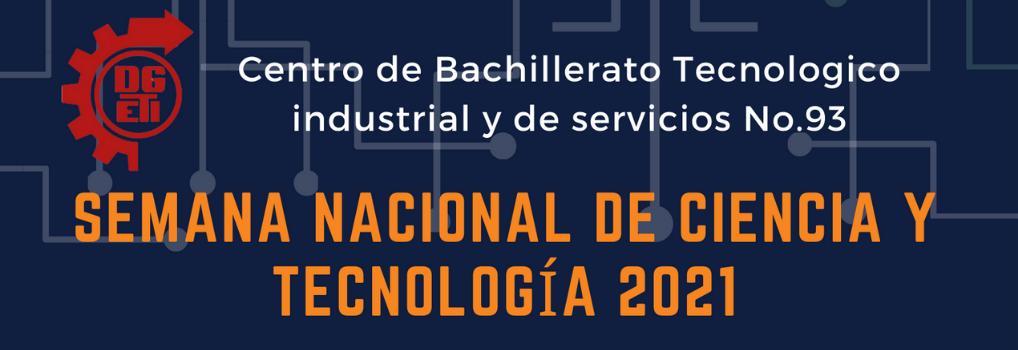 SEMANA NACIONAL DE CIENCIA Y TECNOLOGÍA 2021